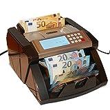 Banknotenzähler Geldzählmaschine Geldscheinzähler Wertzähler Geldzähler Geldscheinprüfer erkennt alle neue 100 und 200 EUR - 4