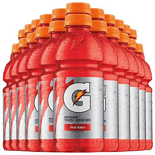 GATORADE® - FRUIT PUNCH | 20 FL OZ (591 ml) Flaschen [24er Pack] inkl. 6,00 € DPG Pfand