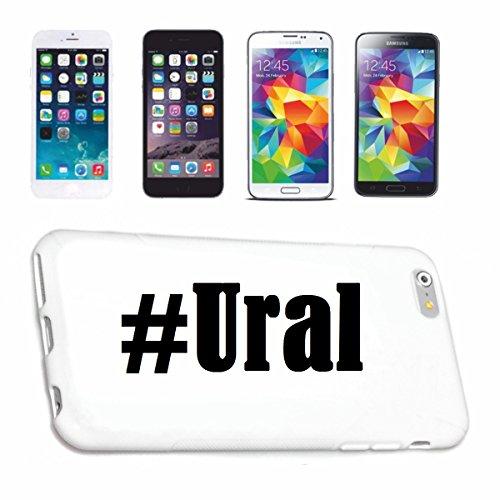 Reifen-Markt Handyhülle kompatibel für iPhone 6S Hashtag #Ural im Social Network Design Hardcase Schutzhülle Handy Cover Smart Cover