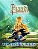 The Legend Of Zelda Coloring Book: 50+ Great Coloring Pages for Kids, Teens and All Fans