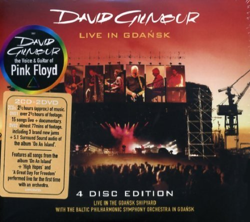 Live in Gdansk (4 Disc Edition) by David Gilmour