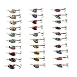 Free Fisher-30pcs Spinner Set Cucharillas Pesca para Lucio Perca Trucha