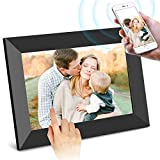 SCISHION Smart 10 Inch 16GB WiFi Digital Photo Frame with HD IPS Display Touch Screen - Share Moments Instantly via Frameo App from Anywhere (Black)