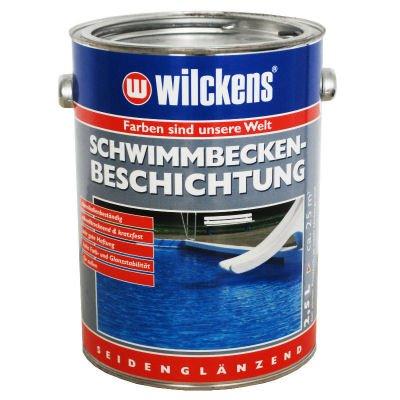 Poolfarbe Schwimmbadfarbe Schwimmbeckenfarbe 2,5 Liter Poolblau