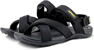 SPOT Men's Sandals with Velcro Ankle-Strap | Durable Design with Strong Grip | Series - SS-1902