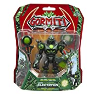 Includes weapon accessory Approximately 25cm tall Complete with articulation and attack function Perfect replica of the characters from Gormiti animated TV series