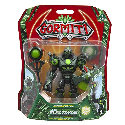 Gormiti Deluxe Action Figure Wave 3 - Lord Electryon