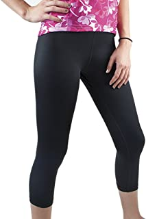 Plus Women's Spandex Exercise Capri - Available Padded or Unpadded