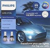 Philips Automotive Lighting H8 H16 Ultinon Essential LED Fog Lights, 2 Pack