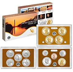 2014-S US Mint Proof Set (P16) Includes Original Government Packaging & Certificate of Authenticity