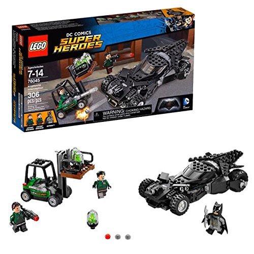 Interception of Lego Super Heroes 2016 Kryptonite 76045