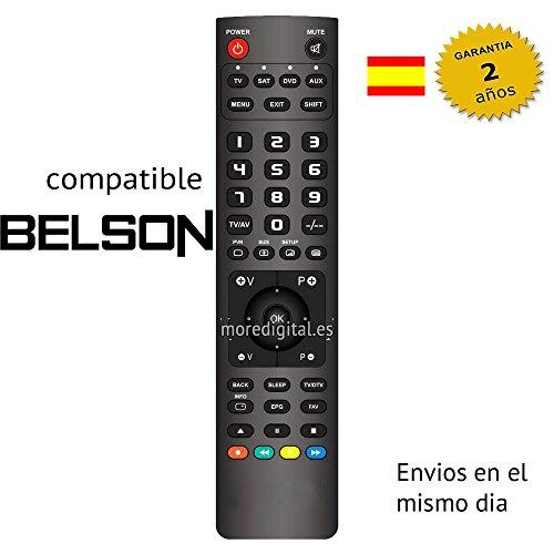 Mando a distancia Especifico para Television Tv SAT DTT BELSON - Reemplazo