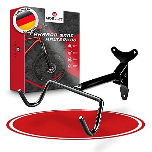 MOSART − Premium Fahrrad Wandhalterung − 40 kg Enorme Traglast − Inkl. hochwertiger Schrauben - Ultra fester Sitz - Fahrradhalterung - Wandhalterung