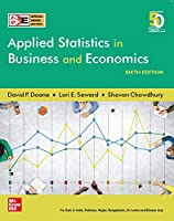 APPLIED STATISTICS IN BUSINESS, 6TH EDITION