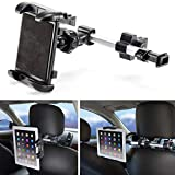 iKross Universal Car Tablet Mount Holder Backseat Headrest...