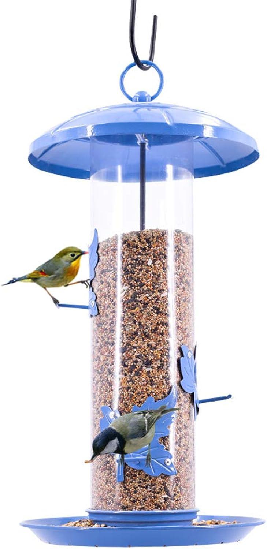 NYDZDM Wild Bird Hanging Feeder Garden Seed Feeders Weatherproof