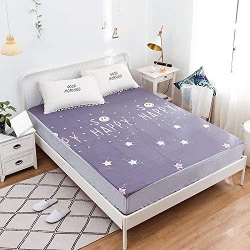 FJMLAY Spannbetttuchauch für hohe Matratzen,Baumwolle wasserdichte Spannbetttücher,...