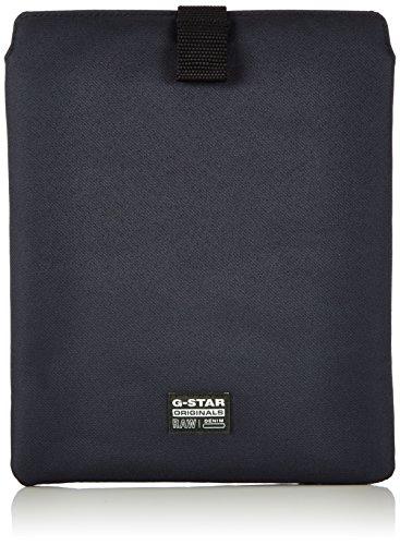 G-STAR RAW Originals I Pad Sleeve, Organizador de bolso Hombre^Mujer, Negro (raven 976), 20x25x1 cm