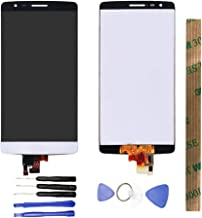 JayTong LCD Display & Replacement Touch Screen Digitizer Assembly with Free Tools for LG G3 Mini D722 D724 D725 D728 White