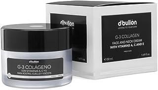 DBullón Profesional Crema G-3 Colágeno con Vitaminas A C Y E Para Rostro Cuello y Escote - 50 ml