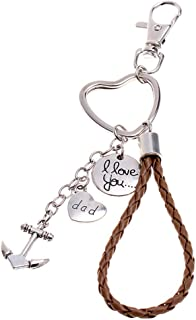 If Dad Can't Fix it No One Can Hand Tools Keychain Daddy Keyring