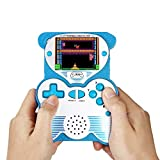 Handheld Games Console for Kids, 12-Bit 220 Retro Games Player,2.5' LCD Portable Gaming Entertainment for Children -Blue