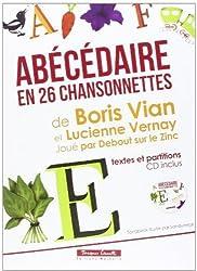 Abécédaire en 26 Chansonnettes de Boris Vian et Lucienne Vernay (CD inclus)