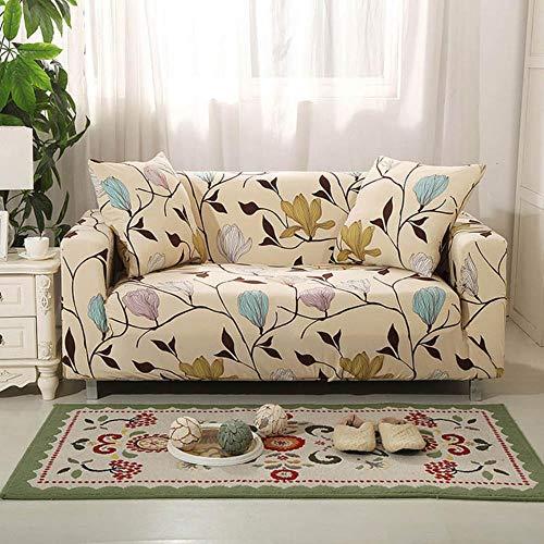 Funda de sofá gris Fundas para muebles elásticas Fundas de sofá elásticas para sala de estar Funda de asiento con funda deslizante funda de asiento de spandex sofá de 1-4 plazas, color 9,4-plazas (23