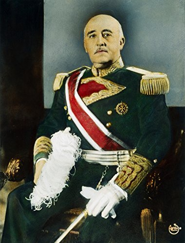 The Poster Corp Francisco Franco (1892-1975). /Nspanish Soldier and Dictator. Oil Over A Photograph C1944. Kunstdruck (45,72 x 60,96 cm)
