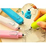 Deziine Portable Battery Operated Electric Pencil Eraser with 20 Eraser Refills (Multicoloured)