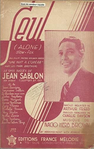Seul (Alone) - Gros succès de Jean Sablon