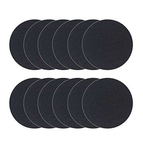 Great Deal! 12 Pack Charcoal Filters for Kitchen Compost Bin Pail Replacement Filter Countertop Home...