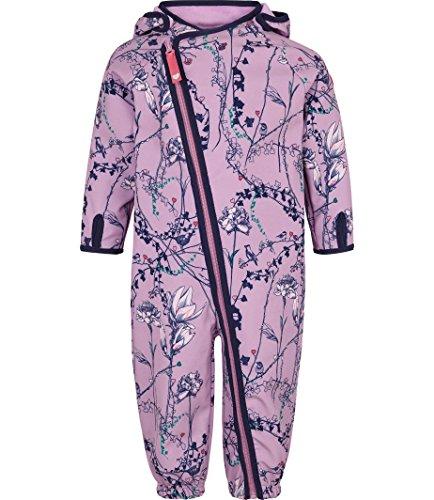 Racoon Racoon Baby-Mädchen Fleur Softshellanzug Wassersäule 5.000 Schneeanzug, Mehrfarbig (Lavender Lav), 74
