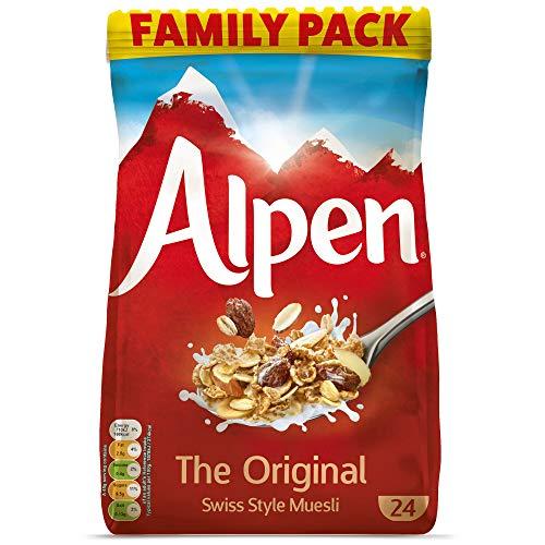 Alpen Original Muesli Bag Pack – 2×1.1kg