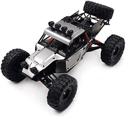 YLJYJ 1:12 Coche de Control Remoto Coche de Escalada en el Desierto Rastreador eléctrico Carreras rápidas 2.4G Coche de Control Remoto de Juguete Off-Road Racing Desert (Coche RC Inteligente)