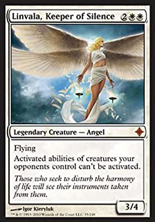 Magic: the Gathering - Linvala, Keeper of Silence - Rise of the Eldrazi - Foil