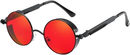 Amazon.es: gafas redondas cristal rojo