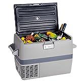 Smad 12v Freezer for Camping Car Vehicle Truck 54 Quart Portable Compressor Fridge Freezer, -0.4℉ to 50℉