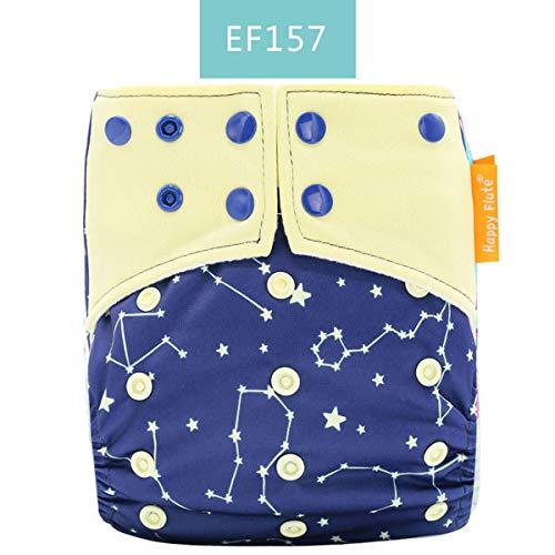 Borlai wasbare doek luier herbruikbare baby verstelbare luier doek luier voor 3-15 kg Unisex baby 0-2 Years EF157
