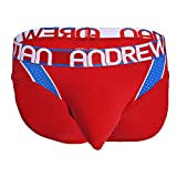 Andrew Christian Trophy Boy Active Mesh Brief Red