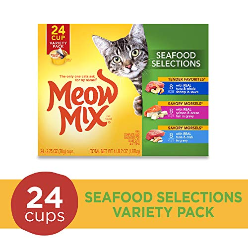 Meow Mix Seafood Selections