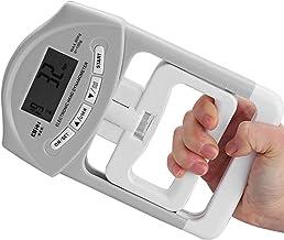 Esenlong Digitale handdynamometer, elektrische grip, sterktemeting, handgreep, stroommeter, 90 kg
