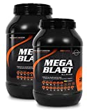 SRS Muscle - Mega Blast XL, 1.900 g, Red Berry | Complete All-in-one Master Stack | ersetzt über 20...