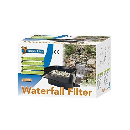 Superfish Wasserfall-Filter, 2in1-Teichfilter für den Gartenteich - 2