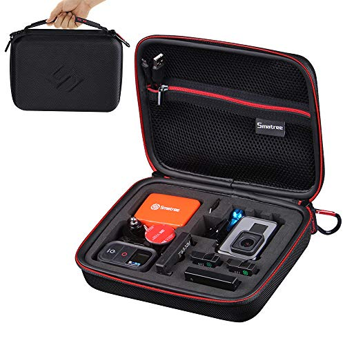 Smatree Carrying Case Compatible for GoPro Hero 8, 7, 6, 5, 4, 3+, 3, 2, 1,GoPro Hero (2018) (Camera and Accessories NOT Included)