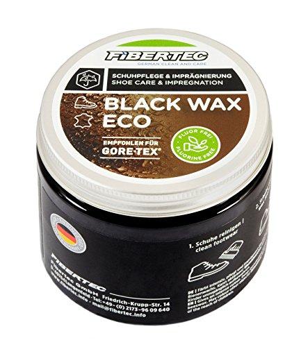 Fibertec Black Wax Eco 500ml, schwarz | Schuhwachs Schuhpflege Imprägnierung