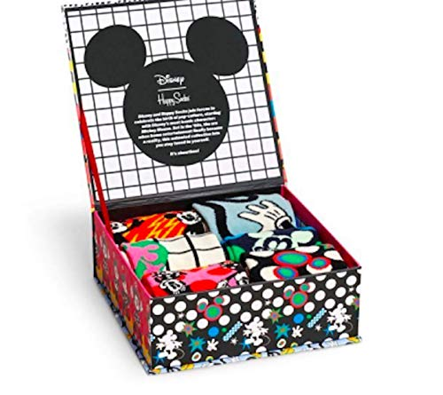 Happy Socks Geschenkbox 6-PACK DISNEY GIFT SET XDNY10-0100 Mehrfarbig, Size:41-46