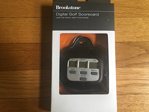 Brookstone Digital Golf Scorecard