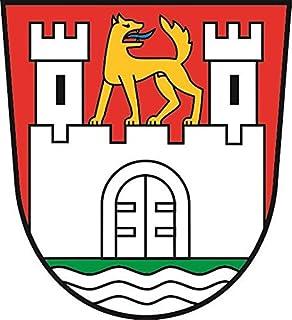 U24 Aufkleber Wolfsburg Wappen Autoaufkleber Sticker Konturschnitt