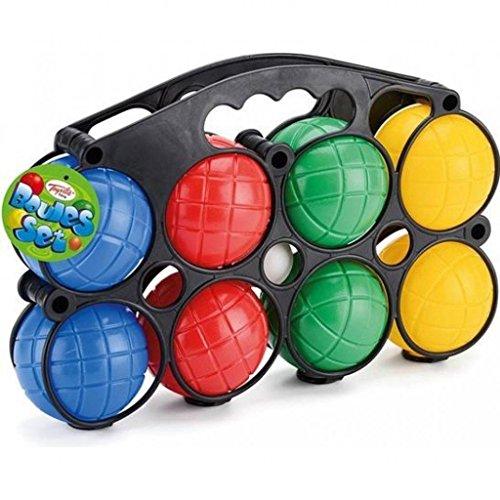 Toyrific Classic Plastic Boule Balls Set, Family Garden Games